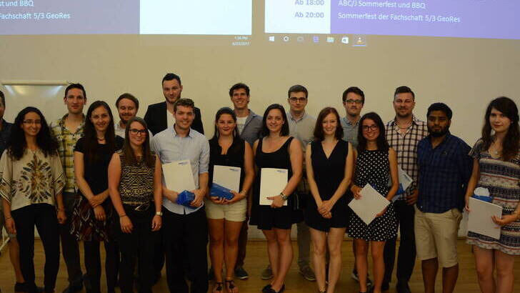 Group with Diplomas