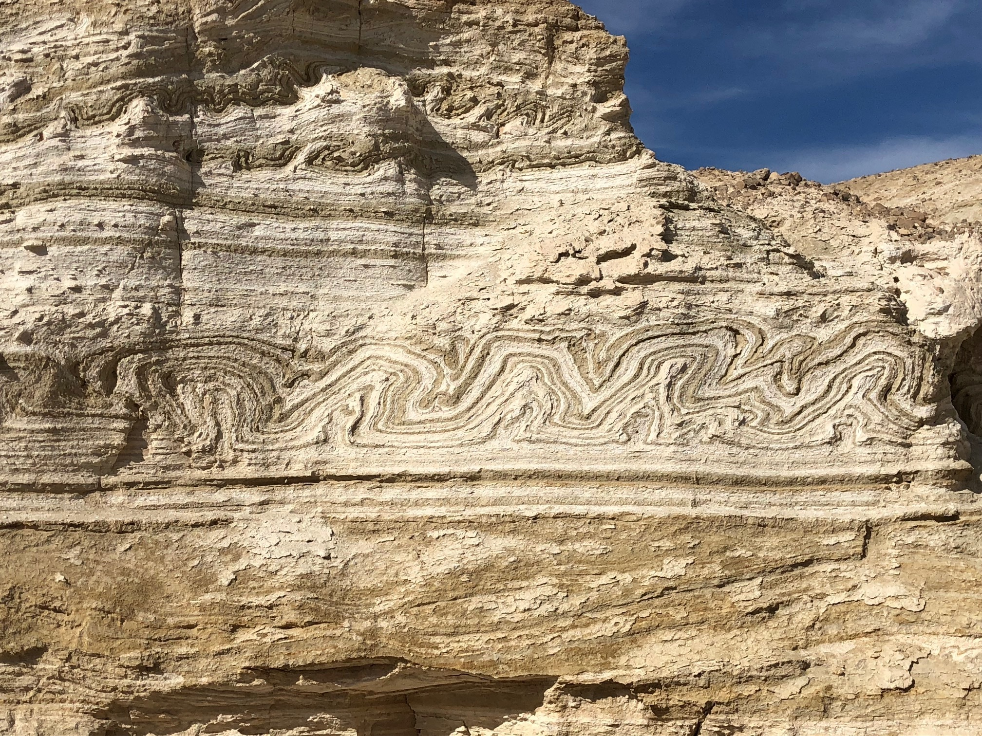 Geological folds
