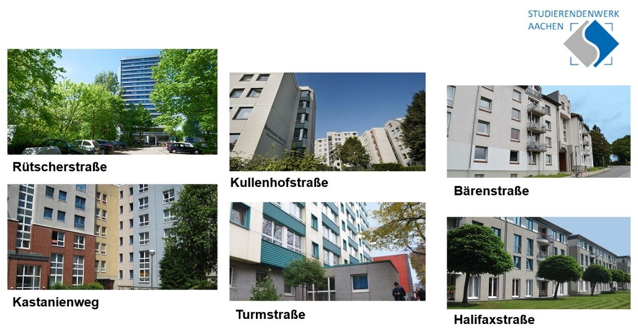 Accomodation Studierendenwerk Aachen