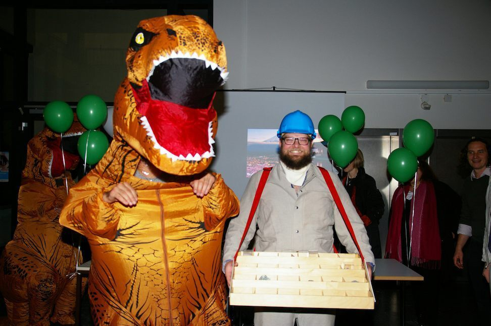 T-Rex and miner
