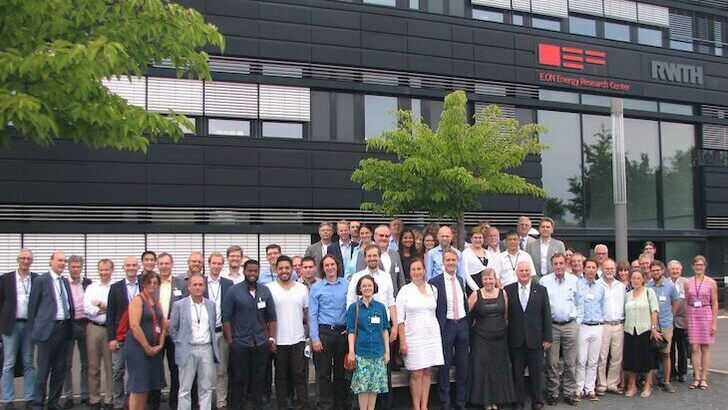 Gruppenbild am E.ON ERC