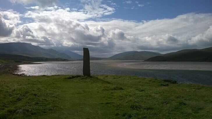 Tomb at the Shore of Scotland