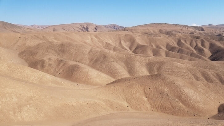 Alluvial fans in the Atacama- and Namib desert